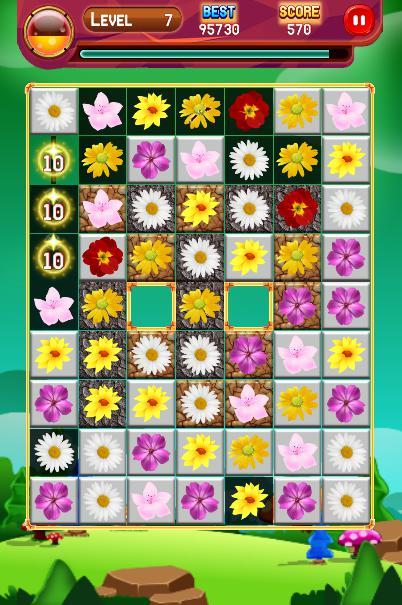 Crazy Blossom Garden 游戏截图4