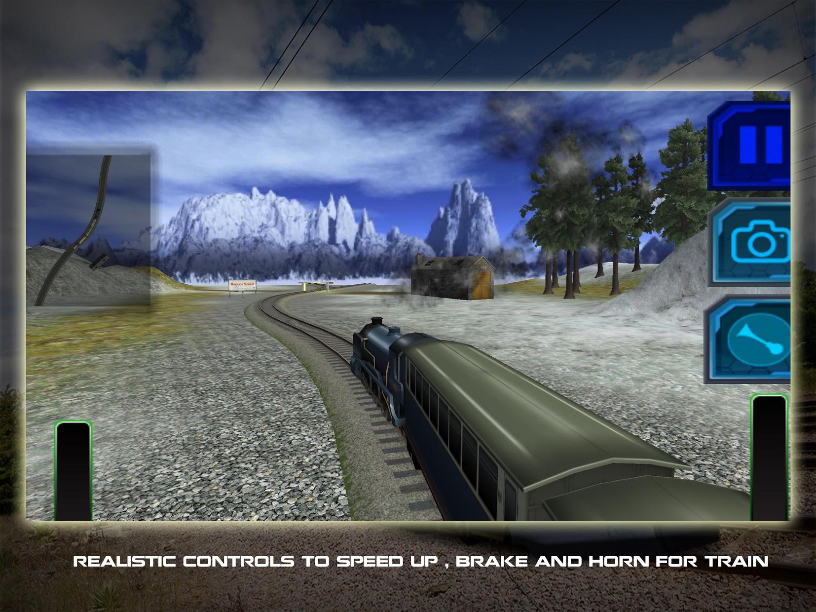 Train Driving Simulator 3D 游戏截图2