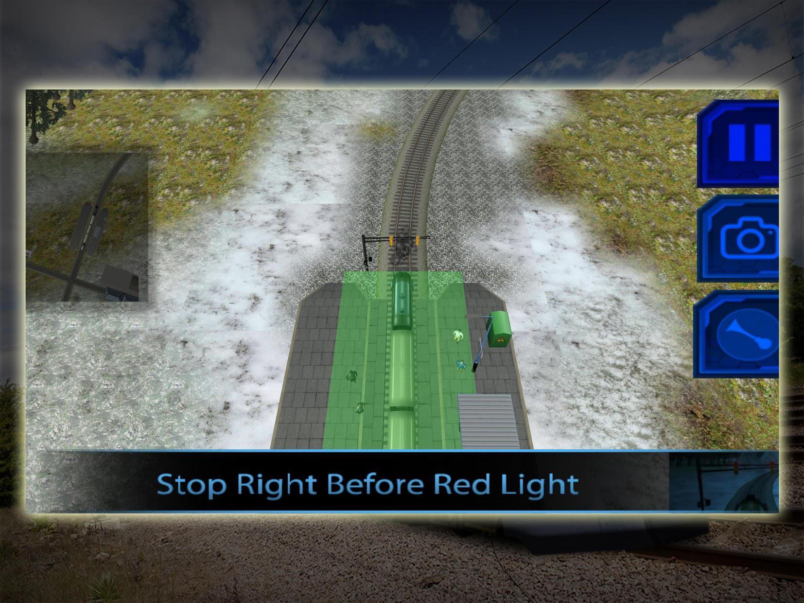 Train Driving Simulator 3D 游戏截图3