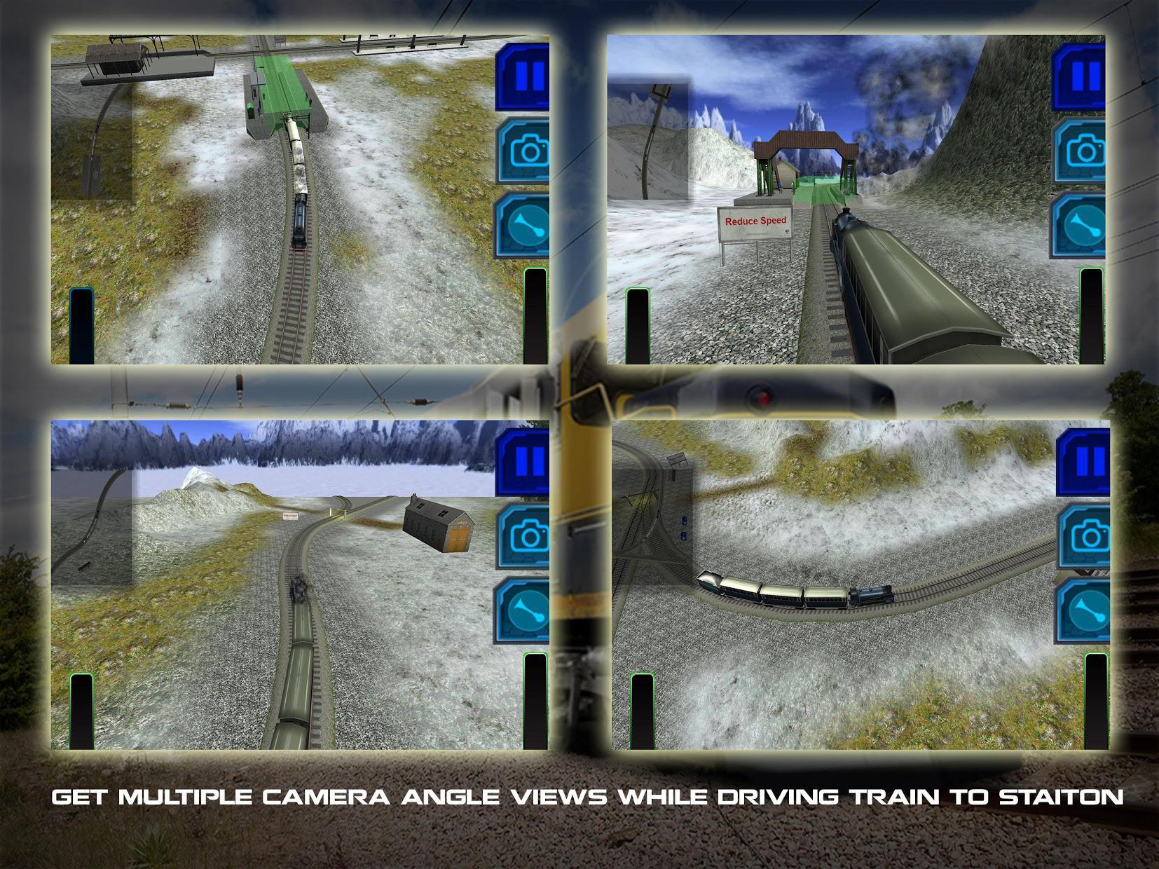 Train Driving Simulator 3D 游戏截图4