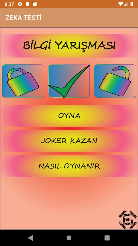 Zeka Oyunu 游戏截图1