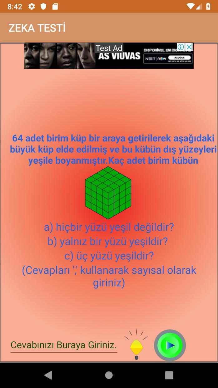 Zeka Oyunu 游戏截图3