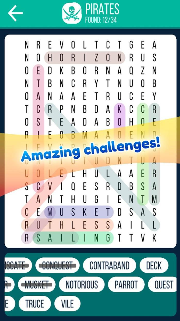 Word Search 2019: Word searching game for free 游戏截图4