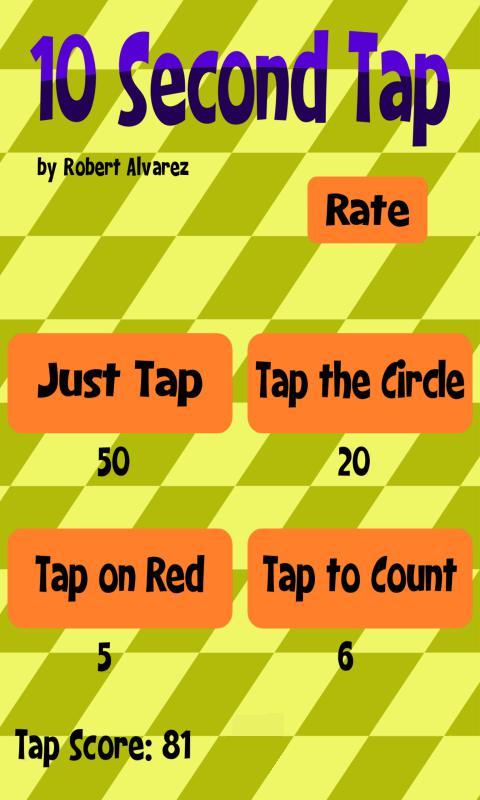 10 Second Tap 游戏截图1