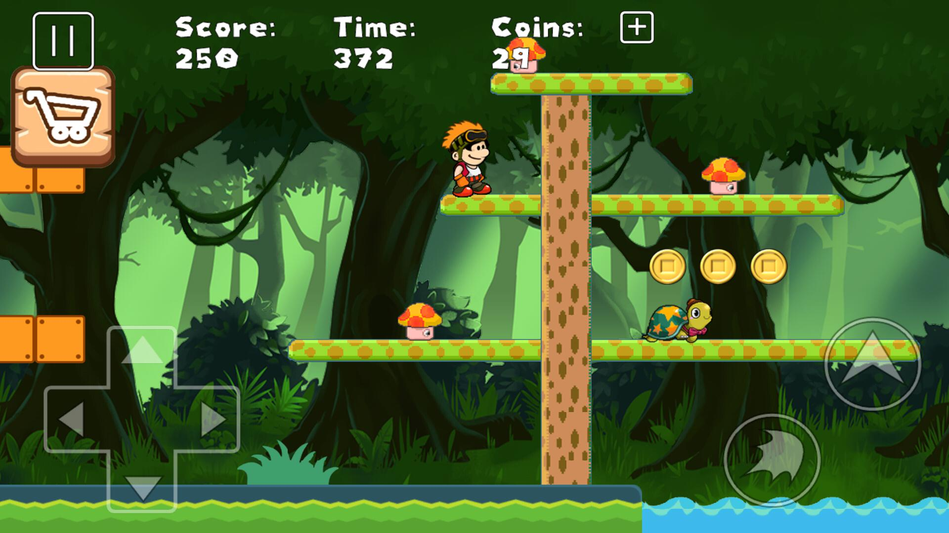 New Super Boys World Bros Jungle Adventure 游戏截图2