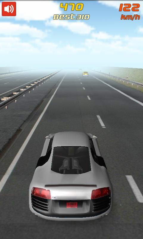 Freeway Racing Driver 游戏截图2
