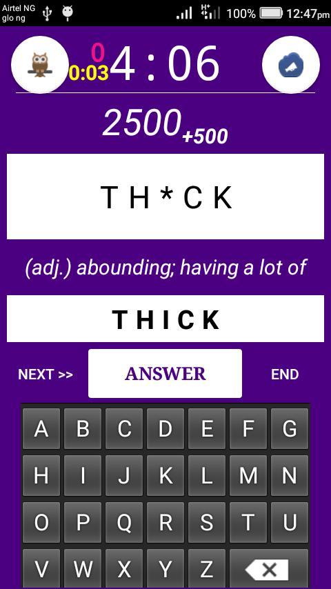 SpellingBees 游戏截图3