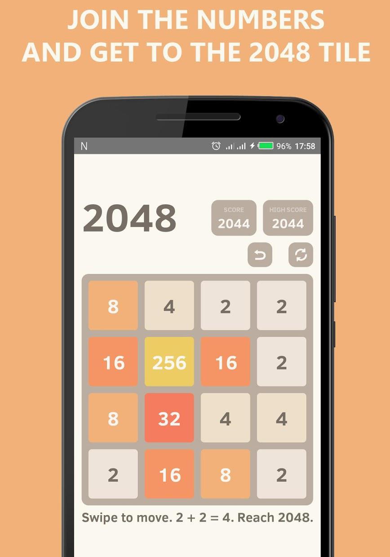 2048 Undo - Math Puzzle Game 游戏截图2