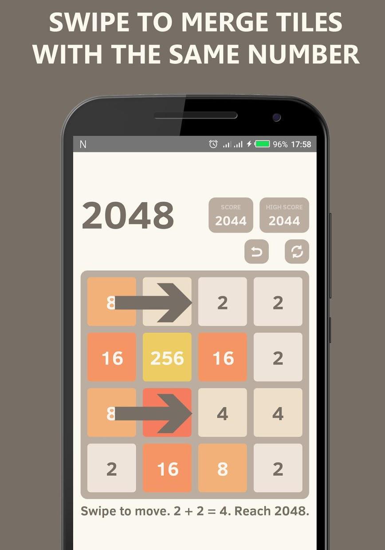 2048 Undo - Math Puzzle Game 游戏截图3