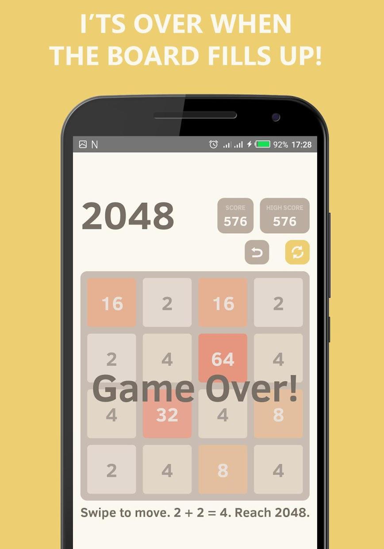 2048 Undo - Math Puzzle Game 游戏截图4