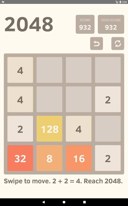 2048 Undo - Math Puzzle Game 游戏截图5
