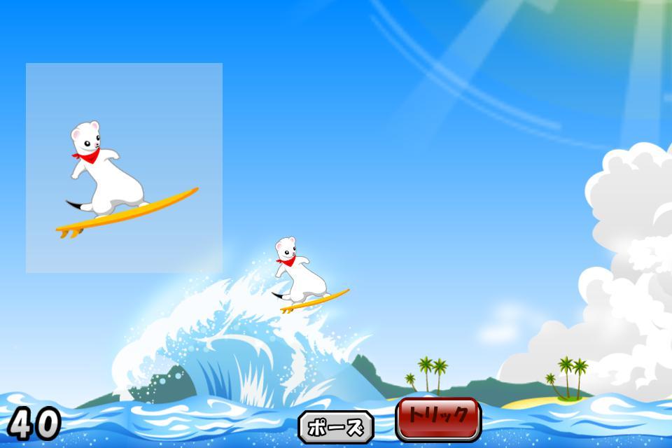 Surfing Ermine 游戏截图1