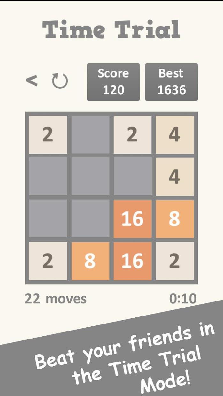 2048: IQ Brain Math Puzzle 游戏截图3