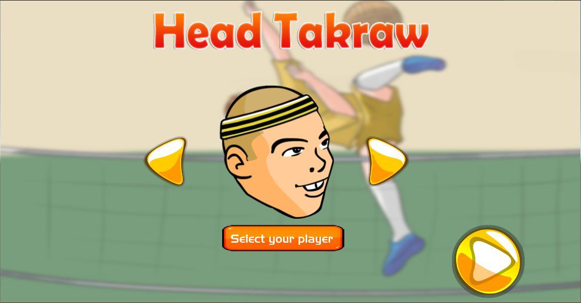 Head Takraw 游戏截图1