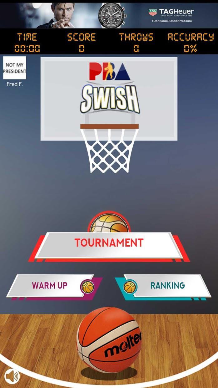PBA Swish 游戏截图1