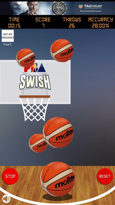PBA Swish 游戏截图4