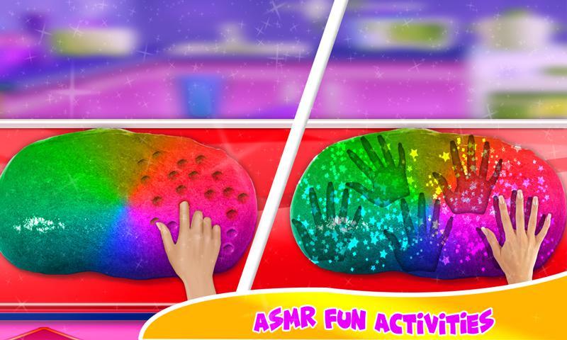 DIY气球粘液冰沙和粘土球粘液游戏 游戏截图5