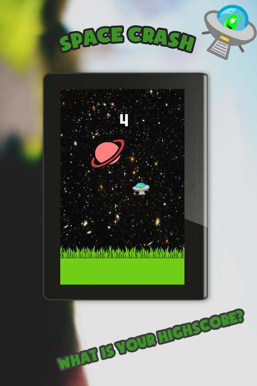 Space Crash - Flying UFO Game 游戏截图5