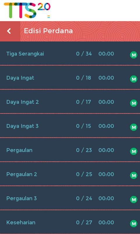 Teka Teki Silang 2.0 游戏截图3