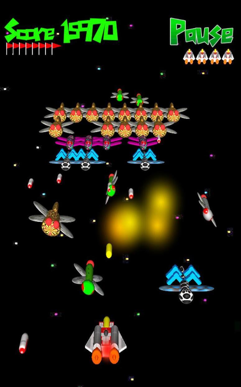Alien Swarm 3D Pro 游戏截图1