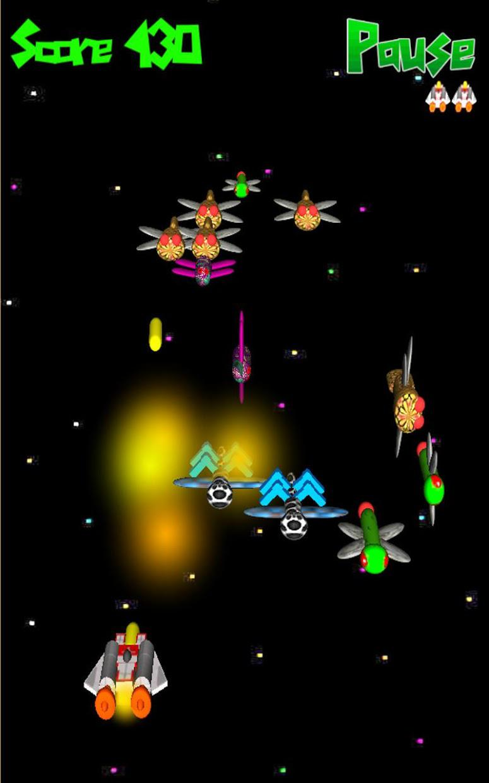 Alien Swarm 3D Pro 游戏截图4