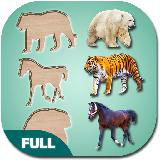 Puzzle Game for Kids Animals and Birds, Full Game
