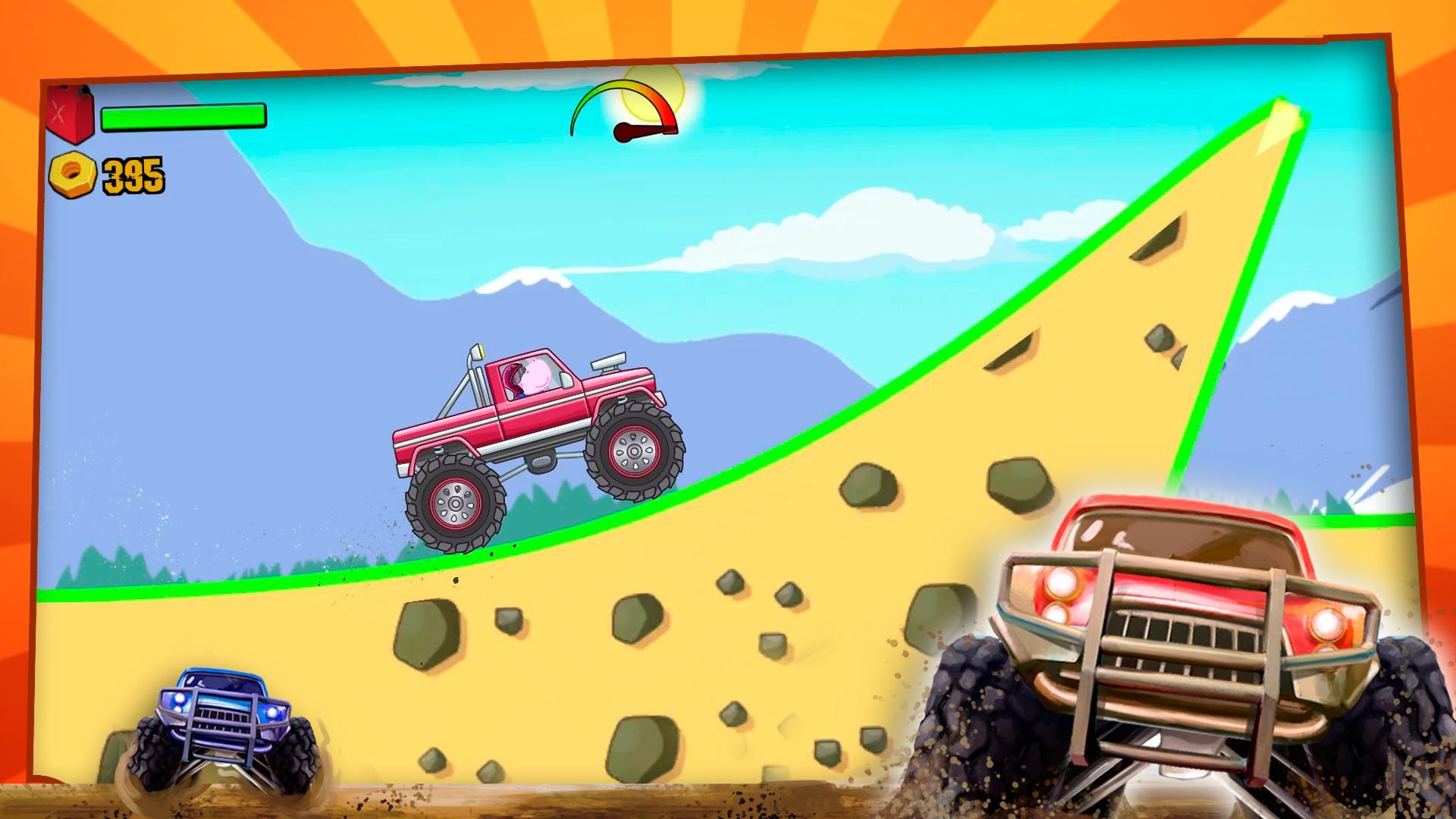 儿童怪物卡车 游戏截图3