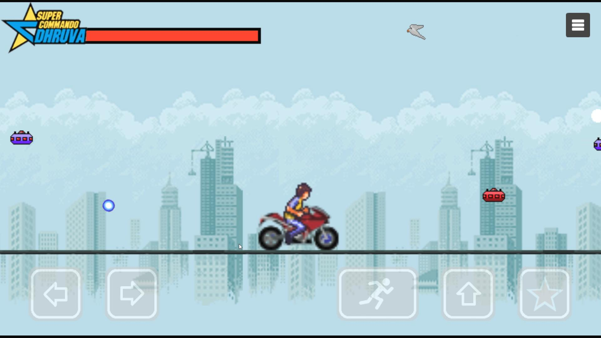 Super Commando Dhruva 游戏截图3