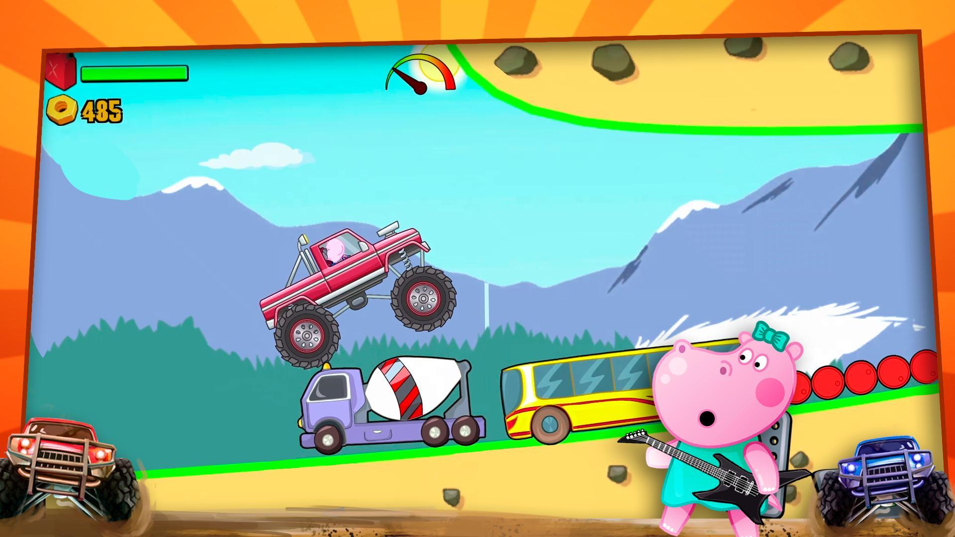 儿童怪物卡车 游戏截图4