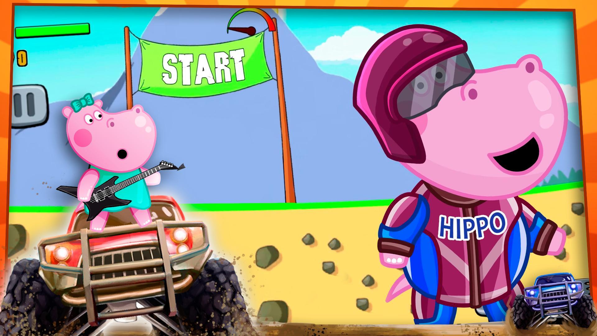 儿童怪物卡车 游戏截图5