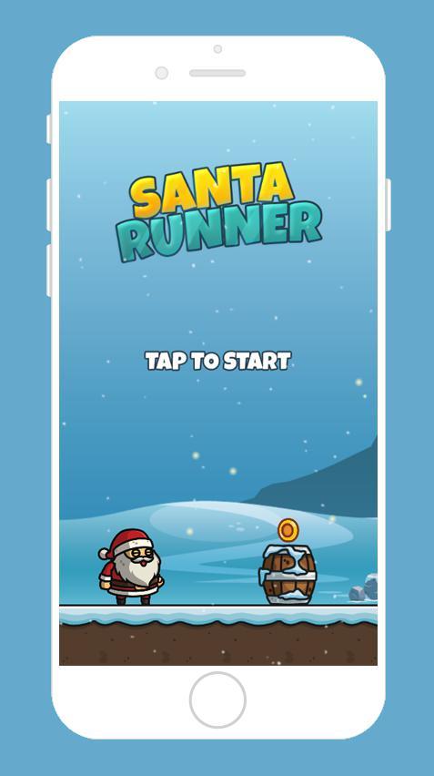 Santa Runner 游戏截图1