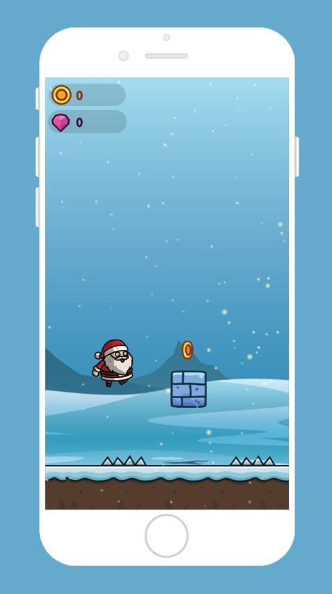Santa Runner 游戏截图2