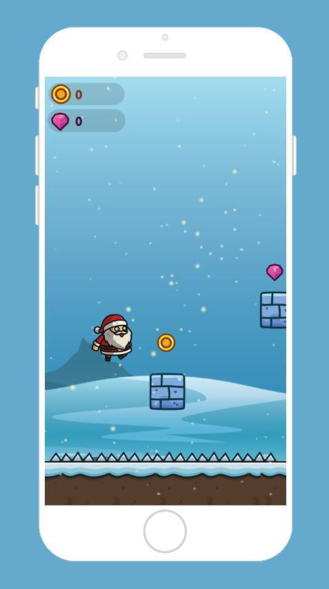 Santa Runner 游戏截图3