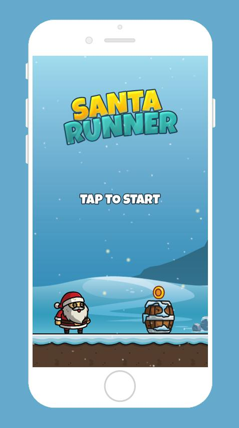Santa Runner 游戏截图4
