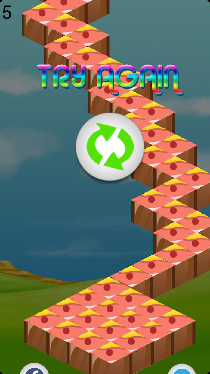 Candy Star Zigzag 游戏截图4