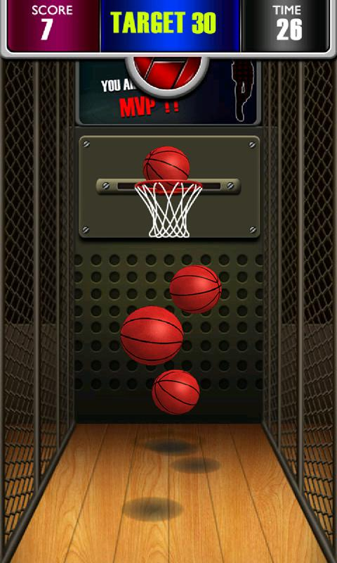 Basketball Shoot 3D 游戏截图1
