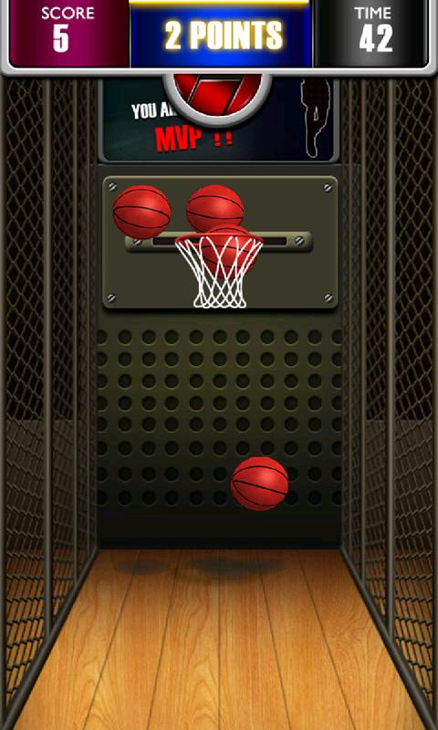 Basketball Shoot 3D 游戏截图3