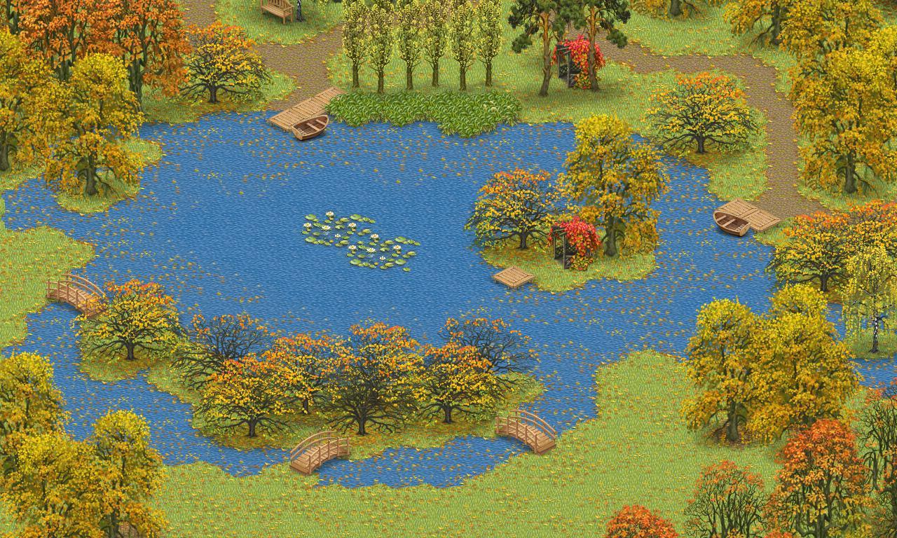 Inner Garden: Autumn 游戏截图1
