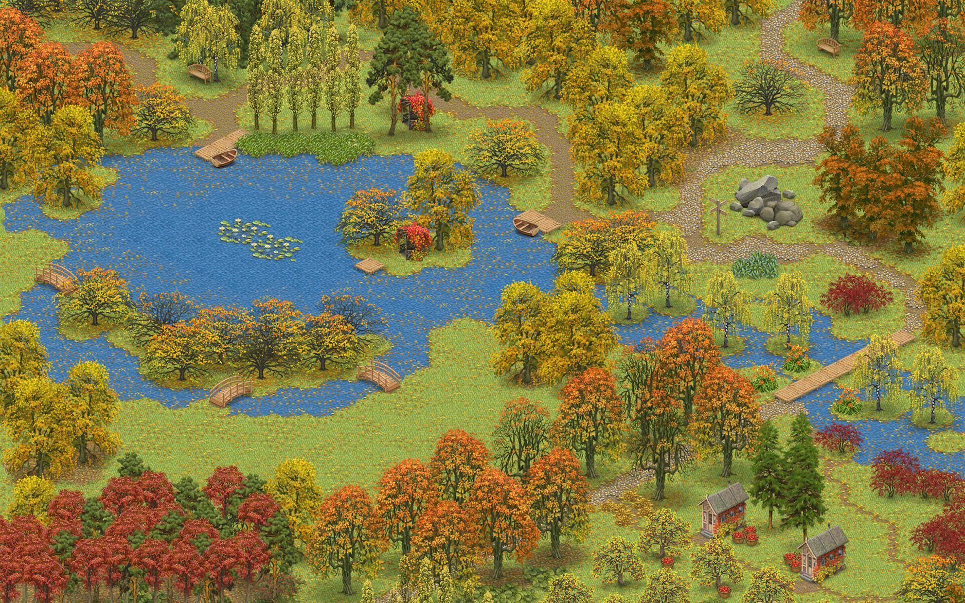 Inner Garden: Autumn 游戏截图4