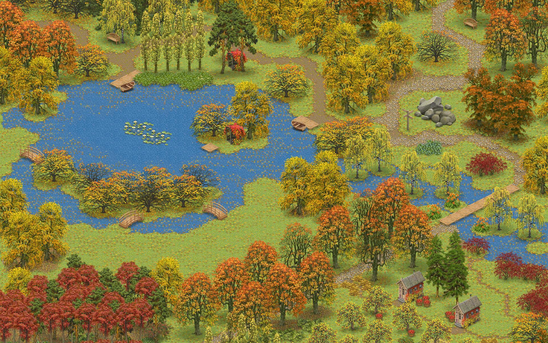 Inner Garden: Autumn 游戏截图5