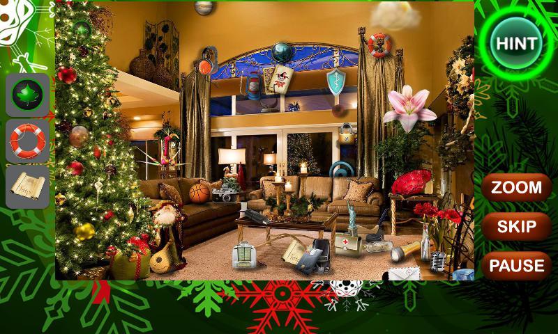 圣诞节隐藏对象 游戏截图1
