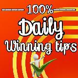 100%Daily winning tips