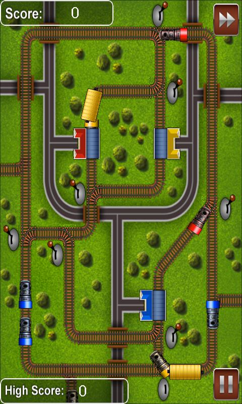 Railroads - Train Rush 游戏截图2