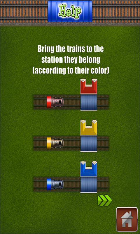 Railroads - Train Rush 游戏截图3