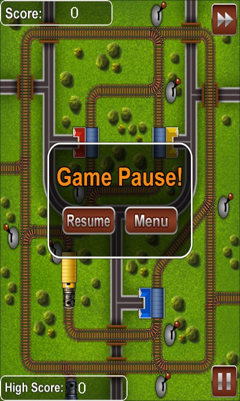 Railroads - Train Rush 游戏截图5