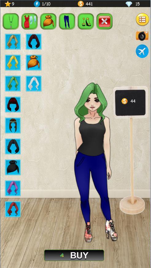 Kim Doll Dress 游戏截图2