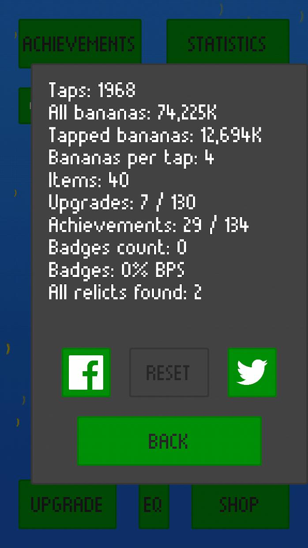 Banana Clicker: Relict Hunter 游戏截图4