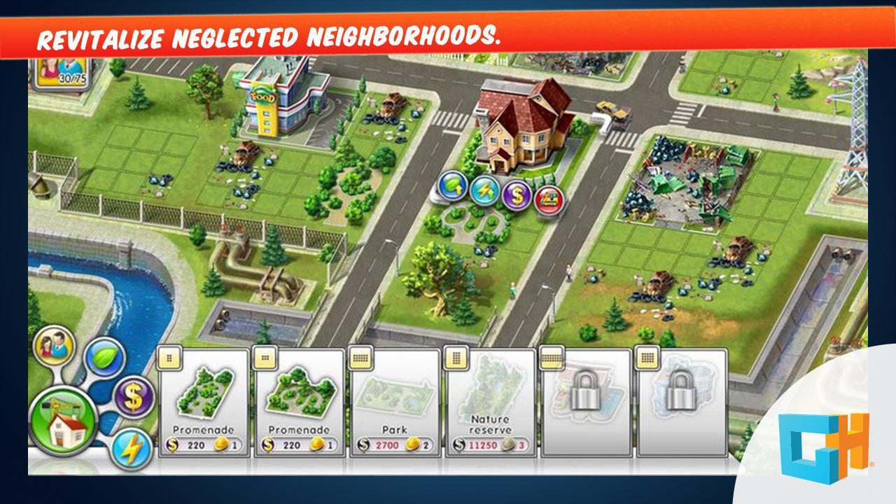 Green City: A Sim Builder Game 游戏截图3