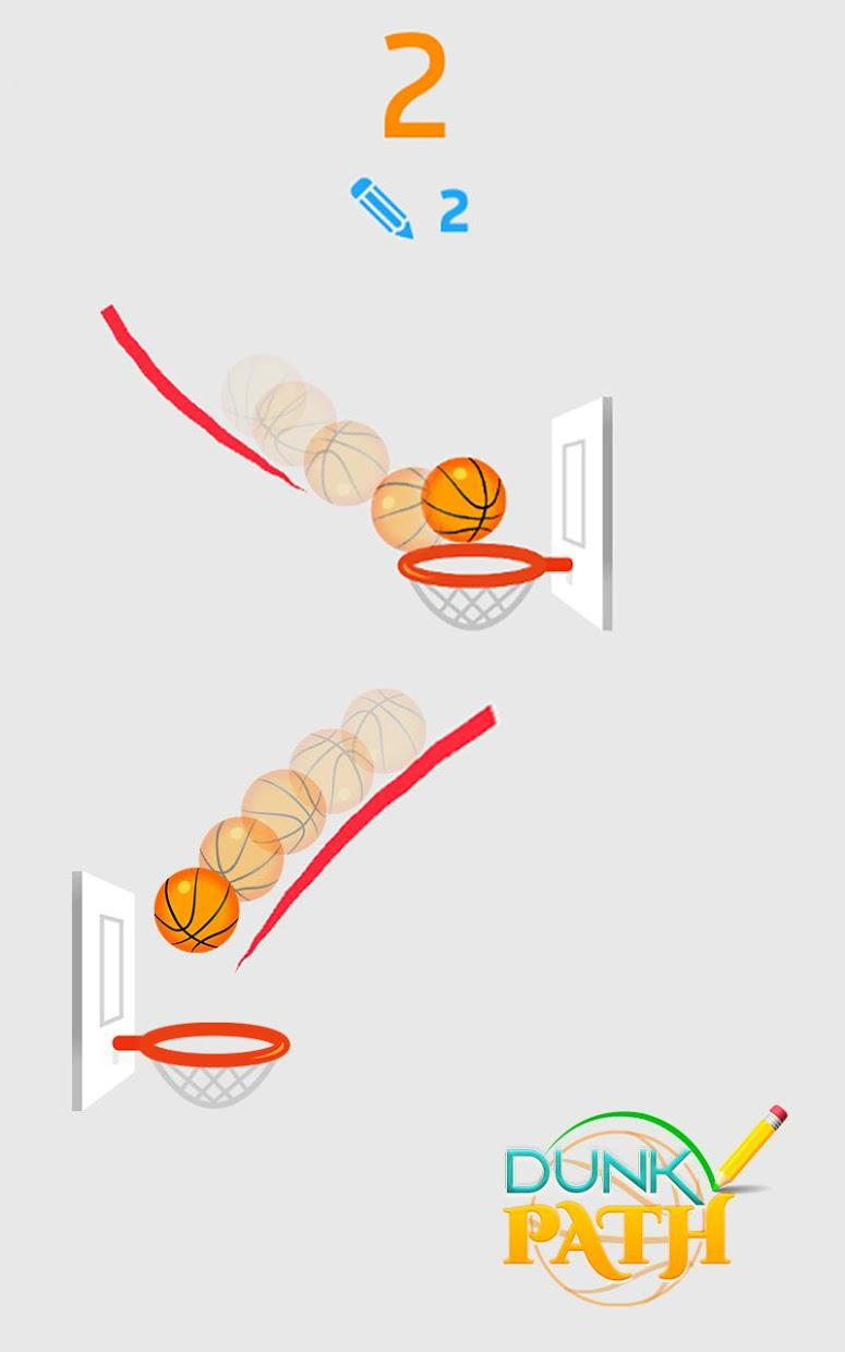 Hit Line Dunk: Hot Ball Master 游戏截图3