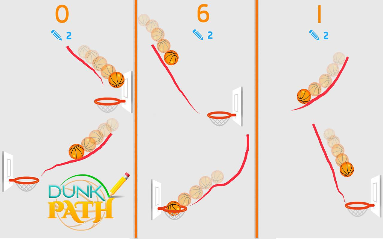 Hit Line Dunk: Hot Ball Master 游戏截图5